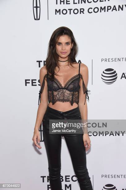 Model actress Sara Sampaio attends 'The Clapper' Premiere during the 2017 Tribeca Film Festival at SVA Theatre on April 23 2017 in New York City