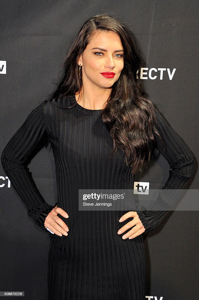 Model Adriana Lima attends DirecTV Super Saturday Night Cohosted by Mark Cuban's AXS TV at Pier 70 on February 6 2016 in San Francisco California