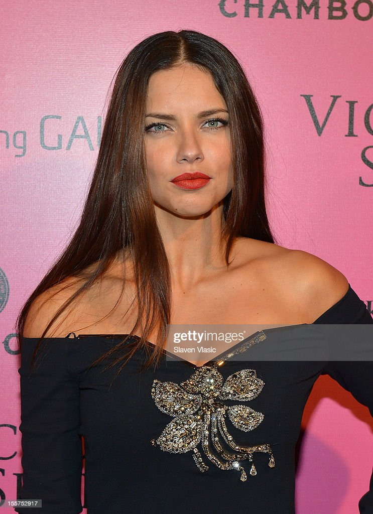 Model <a gi-track='captionPersonalityLinkClicked' href=/galleries/search?phrase=Adriana+Lima&family=editorial&specificpeople=182444 ng-click='$event.stopPropagation()'>Adriana Lima</a> attends Samsung Galaxy features arrivals at the official Victoria's Secret fashion show after party on November 7, 2012 in New York City.