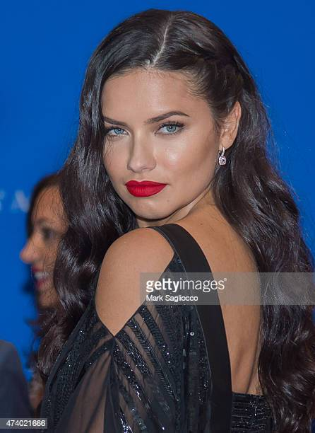 Model Adriana Lima attends the 101st Annual White House Correspondents' Association Dinner at the Washington Hilton on April 25 2015 in Washington DC