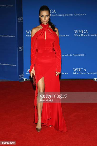 Model Adriana Lima attends the 102nd White House Correspondents' Association Dinner on April 30 2016 in Washington DC
