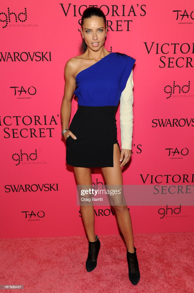 Model Adriana Lima attends the 2013 Victoria's Secret Fashion after party at TAO Downtown on November 13, 2013 in New York City.