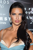 Model Adriana Lima attends the 2016 Fragrance Foundation Awards at Alice Tully Hall at Lincoln Center on June 7 2016 in New York City