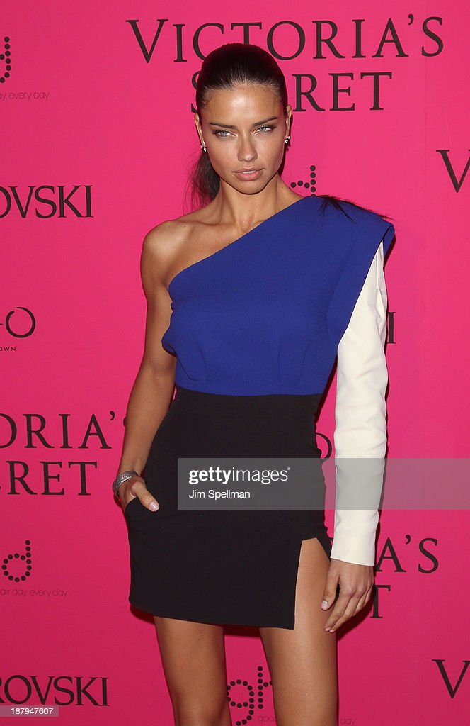 Model Adriana Lima attends the after party for the 2013 Victoria's Secret Fashion Show at TAO Downtown on November 13, 2013 in New York City.