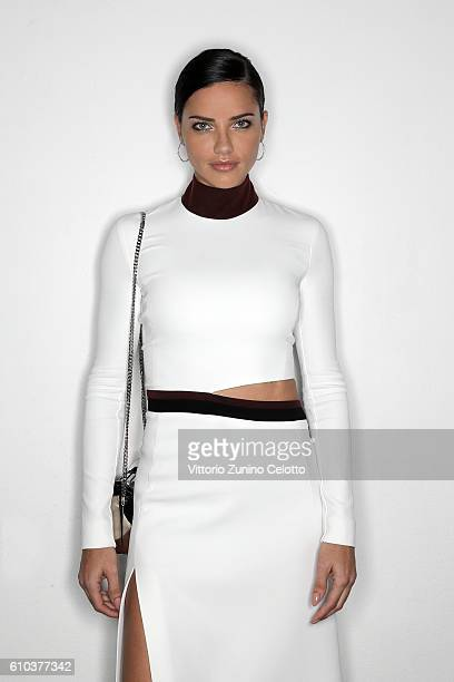 Model Adriana Lima poses for a portrait during amfAR Milano 2016 at La Permanente on September 24 2016 in Milan Italy