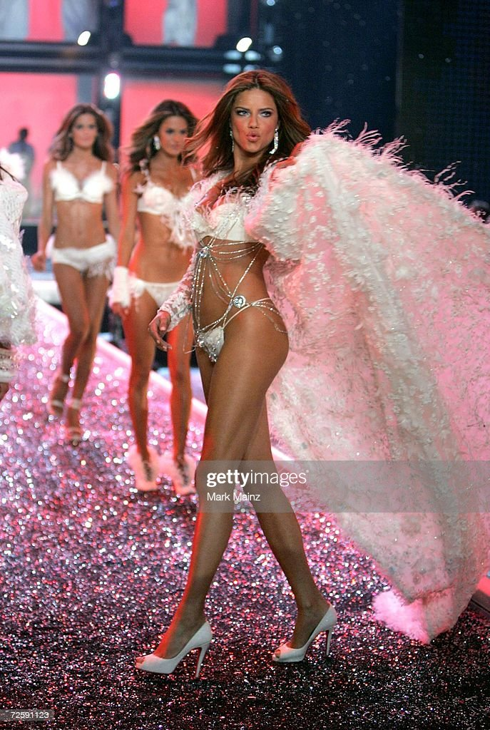 Model Adriana Lima walks the runway during the Victoria's Secret Fashion Show held at the Kodak Theatre on November 16, 2006 in Hollywood, California. The show will be broadcast December 5, 2006 on CBS.