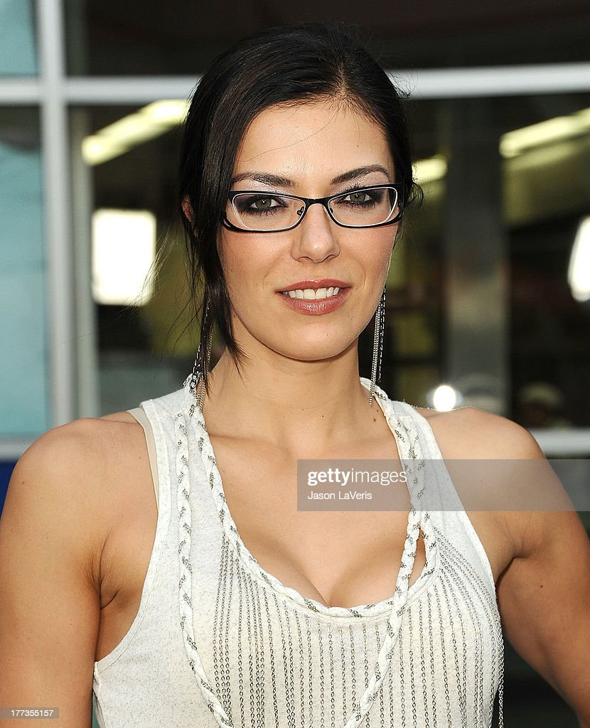 Model Adrianne Curry attends the premiere of 'The Grandmaster' at ArcLight Cinemas on August 22, 2013 in Hollywood, California.