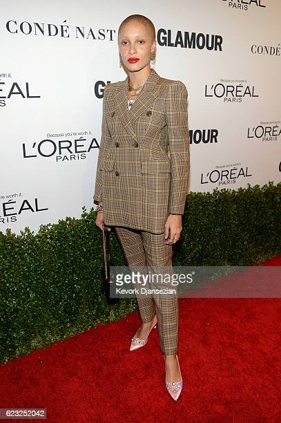 Model Adwoa Aboah attends Glamour Women Of The Year 2016 at NeueHouse Hollywood on November 14 2016 in Los Angeles California
