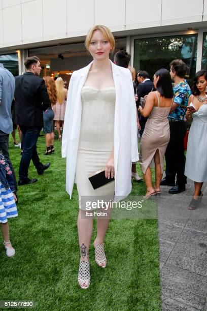 Model Ajsa Selimovic during the 'True Berlin' Hosted By Shan Rahimkhan on July 11 2017 in Berlin Germany
