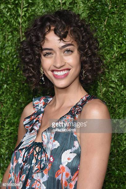 Model Alanna Arrington attends 13th Annual CFDA/Vogue Fashion Fund Awards at Spring Studios on November 7 2016 in New York City