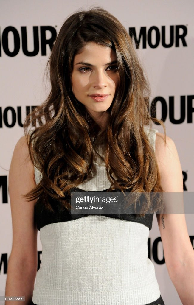 Model Alba Galocha attends 'Glamour' beauty awards 2012 at Pacha Club on March 14, 2012 in Madrid, Spain.
