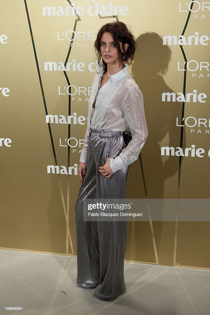 Model Alejandra Alonso attends Marie Claire Prix de la Moda Awards 2012 at French Embassy on November 22, 2012 in Madrid, Spain.
