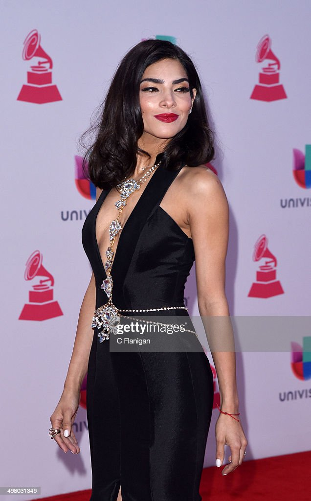 Model Alejandra Espinoza attends the 16th Annual Latin GRAMMY Awards at the MGM Grand Garden Arena on November 19, 2015 in Las Vegas, Nevada.
