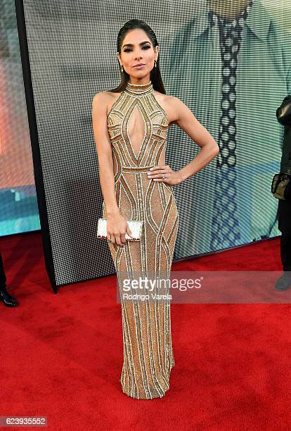 Model Alejandra Espinoza attends The 17th Annual Latin Grammy Awards at TMobile Arena on November 17 2016 in Las Vegas Nevada