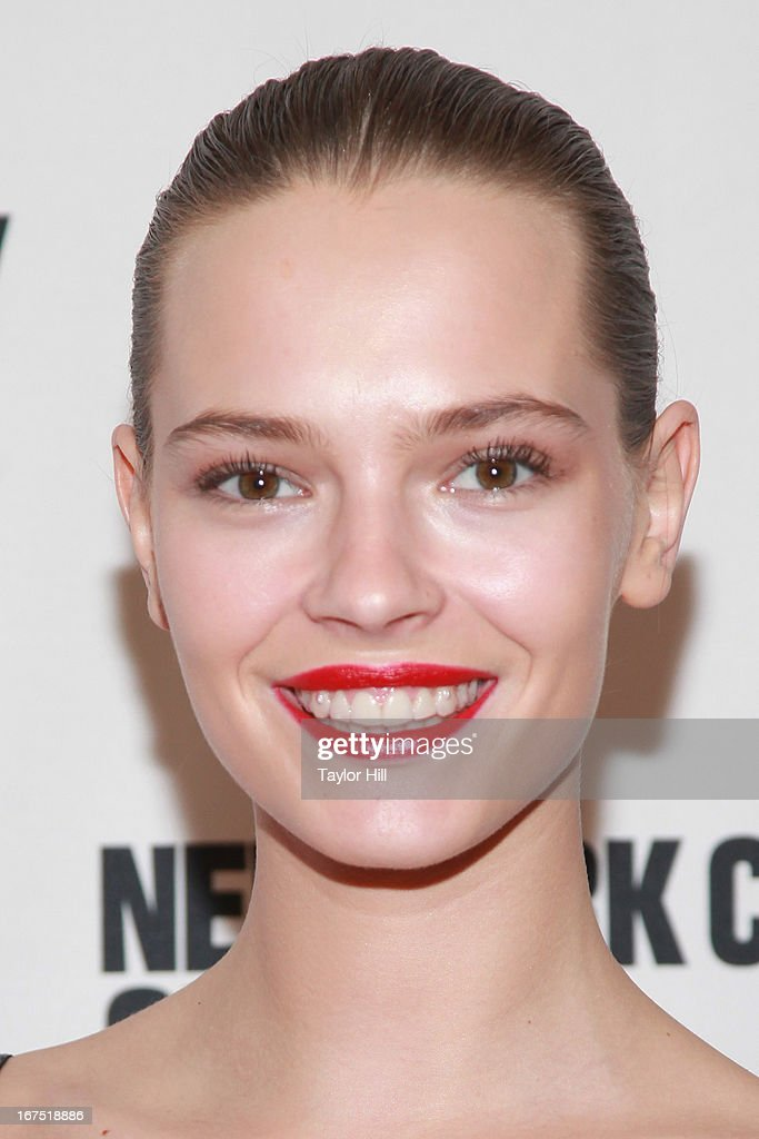 Model Aleksandra Cvetkovic attends the 2013 New York City Opera Spring Gala at New York City Center on April 25, 2013 in New York City.