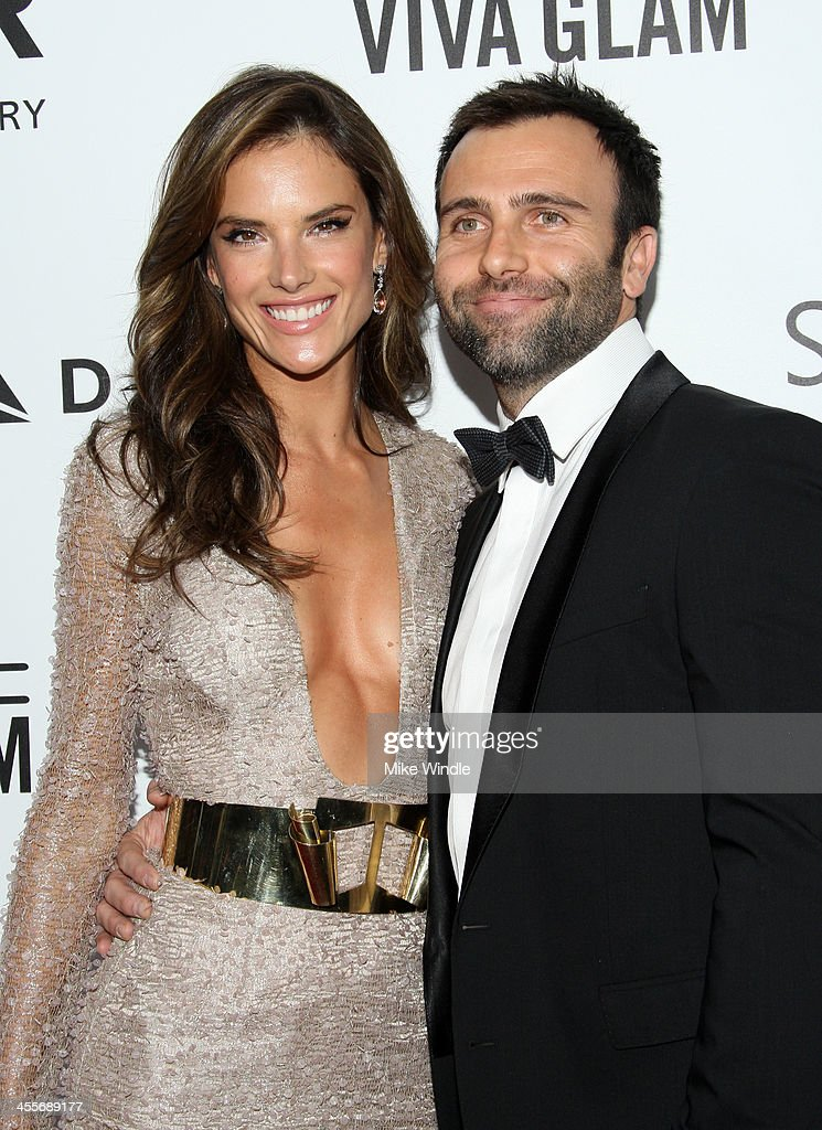 Model <a gi-track='captionPersonalityLinkClicked' href=/galleries/search?phrase=Alessandra+Ambrosio&family=editorial&specificpeople=203062 ng-click='$event.stopPropagation()'>Alessandra Ambrosio</a> (L) and <a gi-track='captionPersonalityLinkClicked' href=/galleries/search?phrase=Jamie+Mazur&family=editorial&specificpeople=5344757 ng-click='$event.stopPropagation()'>Jamie Mazur</a> attend the 2013 amfAR Inspiration Gala Los Angeles at Milk Studios on December 12, 2013 in Los Angeles, California.
