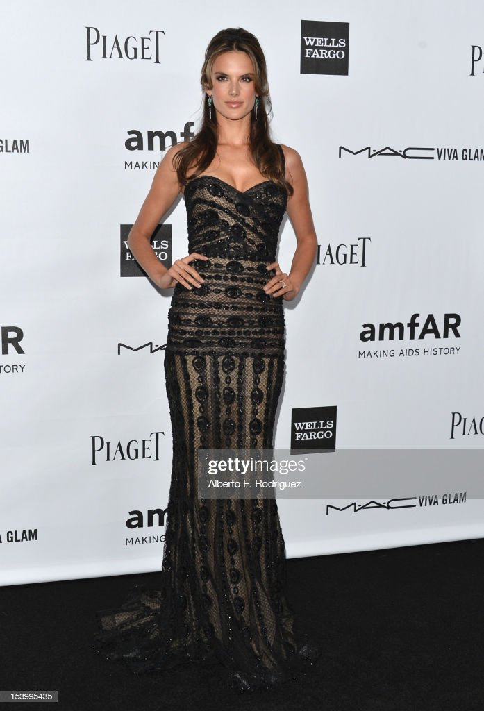 Model <a gi-track='captionPersonalityLinkClicked' href=/galleries/search?phrase=Alessandra+Ambrosio&family=editorial&specificpeople=203062 ng-click='$event.stopPropagation()'>Alessandra Ambrosio</a> arrives at amfAR's Inspiration Gala at Milk Studios on October 11, 2012 in Hollywood, California.