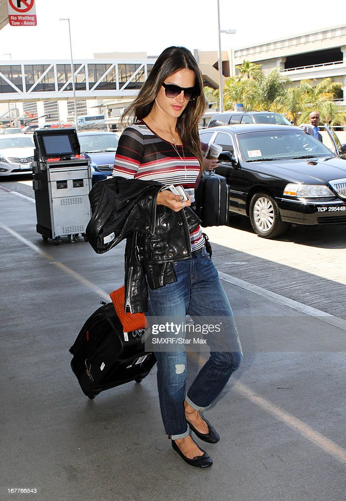 Model <a gi-track='captionPersonalityLinkClicked' href=/galleries/search?phrase=Alessandra+Ambrosio&family=editorial&specificpeople=203062 ng-click='$event.stopPropagation()'>Alessandra Ambrosio</a> as seen on April 29, 2013 in Los Angeles, California.
