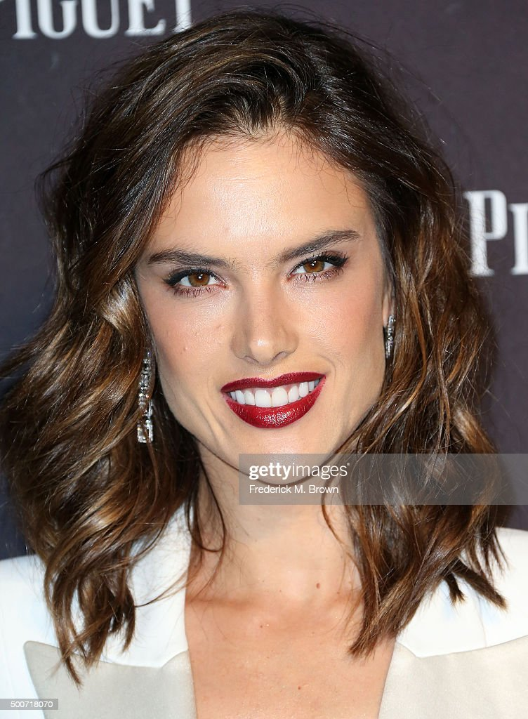 Model Alessandra Ambrosio attends Audemars Piquet Celebrates Grand Opening of Rodeo Drive Boutique on December 9, 2015 in Beverly Hills, California.