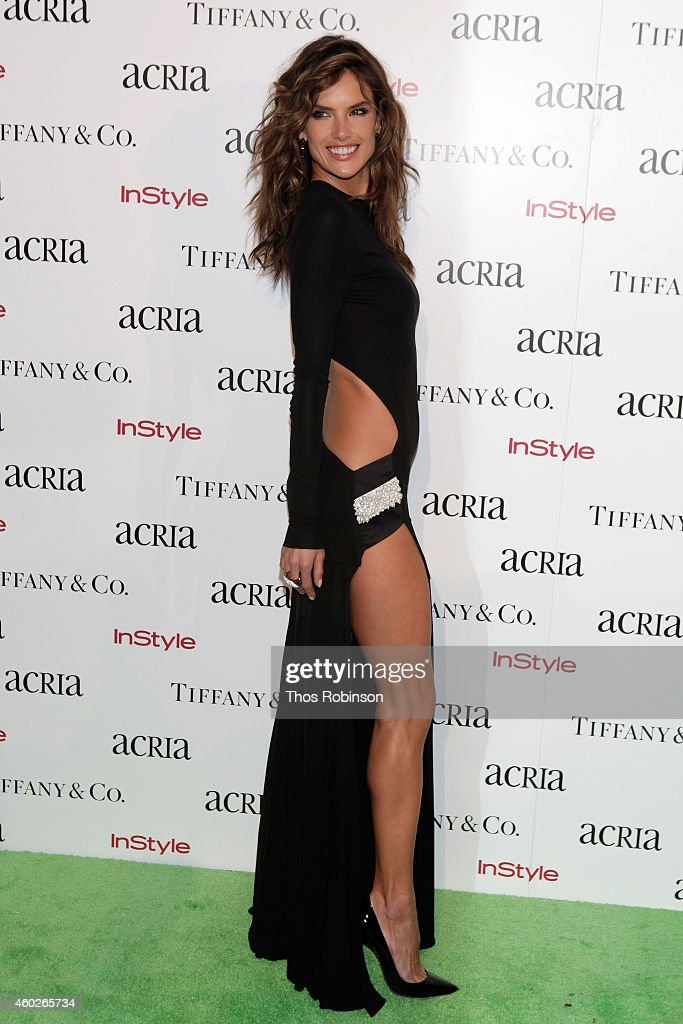 Model Alessandra Ambrosio attends the 19th Annual ACRIA Holiday Dinner at Skylight Modern on December 10, 2014 in New York City.