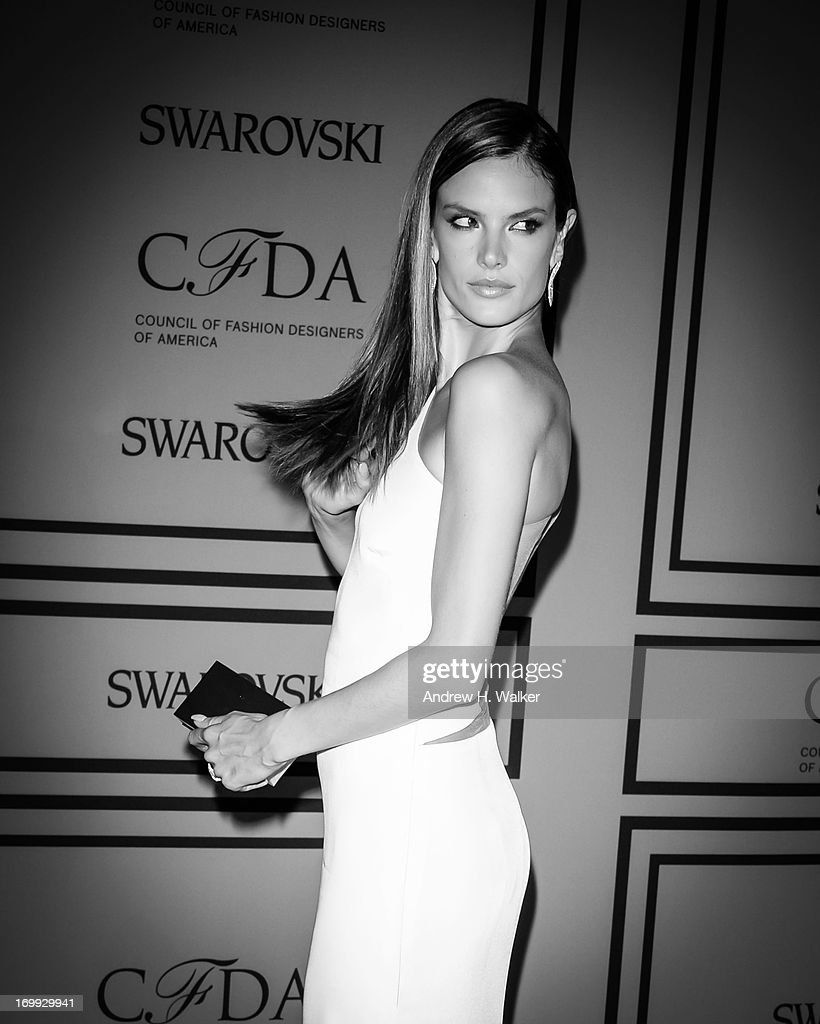 Model <a gi-track='captionPersonalityLinkClicked' href=/galleries/search?phrase=Alessandra+Ambrosio&family=editorial&specificpeople=203062 ng-click='$event.stopPropagation()'>Alessandra Ambrosio</a> attends the 2013 CFDA Fashion Awards on June 3, 2013 in New York City.