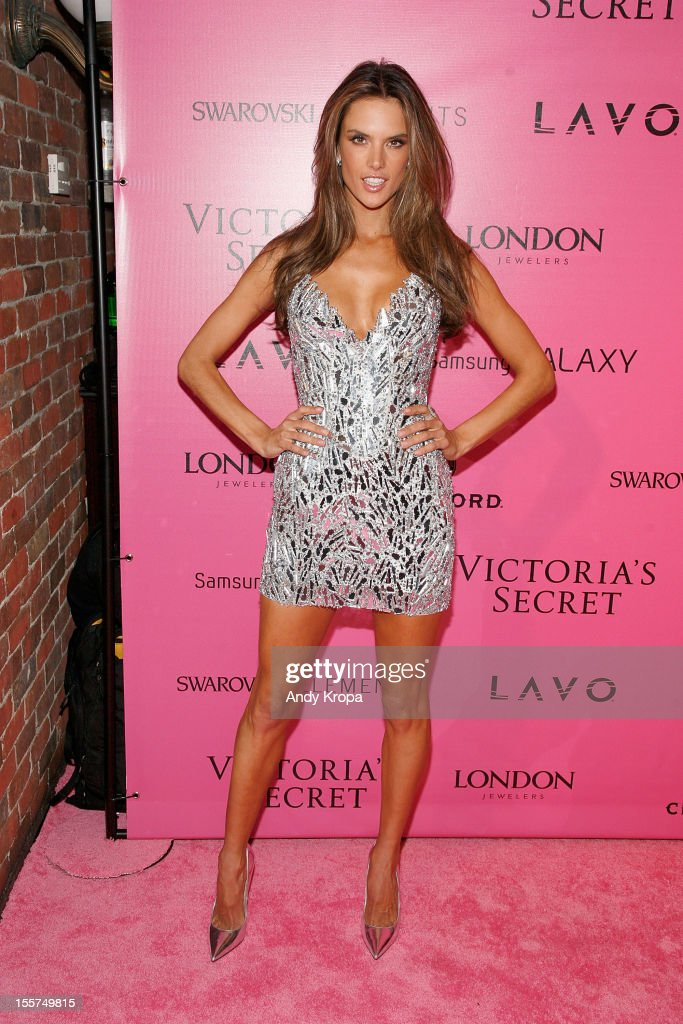 Model Alessandra Ambrosio attends the after party for the 2012 Victoria's Secret Fashion Show at Lavo NYC on November 7, 2012 in New York City.