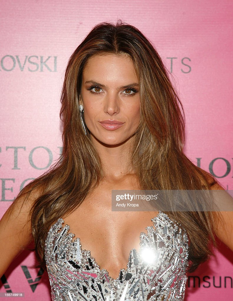 Model <a gi-track='captionPersonalityLinkClicked' href=/galleries/search?phrase=Alessandra+Ambrosio&family=editorial&specificpeople=203062 ng-click='$event.stopPropagation()'>Alessandra Ambrosio</a> attends the after party for the 2012 Victoria's Secret Fashion Show at Lavo NYC on November 7, 2012 in New York City.