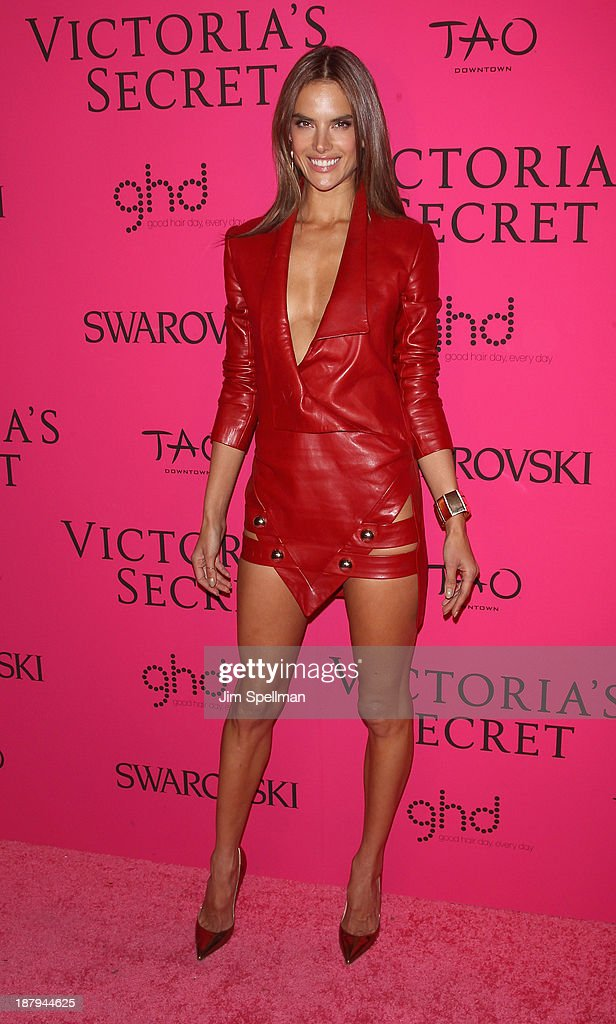 Model Alessandra Ambrosio attends the after party for the 2013 Victoria's Secret Fashion Show at TAO Downtown on November 13, 2013 in New York City.