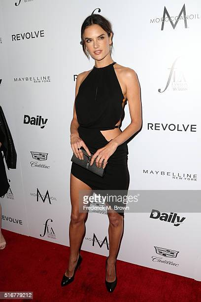 Model Alessandra Ambrosio attends the Daily Front Row 'Fashion Los Angeles Awards' at Sunset Tower Hotel on March 20 2016 in West Hollywood California
