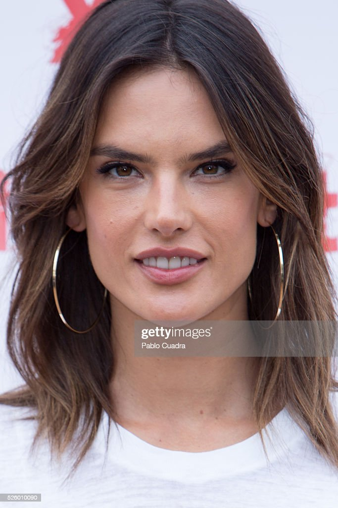 Model <a gi-track='captionPersonalityLinkClicked' href=/galleries/search?phrase=Alessandra+Ambrosio&family=editorial&specificpeople=203062 ng-click='$event.stopPropagation()'>Alessandra Ambrosio</a> presents the 'Xti' new collection at ME Hotel on April 29, 2016 in Madrid, .