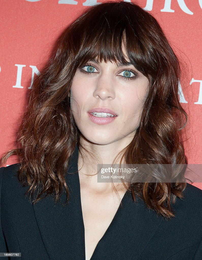 Model Alexa Chung attends the 30th Annual Night Of Stars presented by The Fashion Group International at Cipriani Wall Street on October 22, 2013 in New York City.