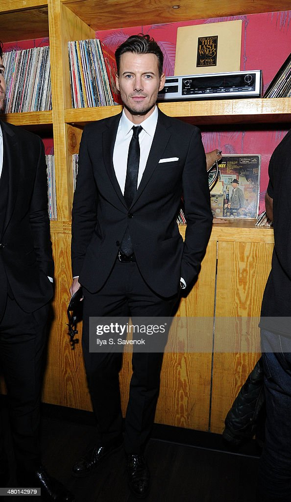 Model Alexander Lundqvist attends 2nd Supermodel Saturday at No.8 on March 22, 2014 in New York City.