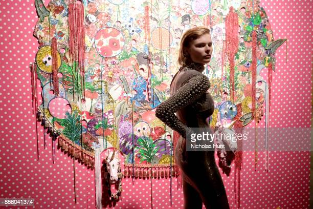 Model Alexandra Elizabeth attends BACARDI Swizz Beatz and The Dean Collection bring NO COMMISSION back to Miami to celebrate 'Island Might' at Soho...
