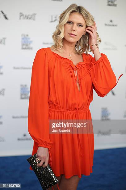 Model Alexandra Richards attends the 2016 Film Independent Spirit Awards sponsored by Piaget on February 27 2016 in Santa Monica California