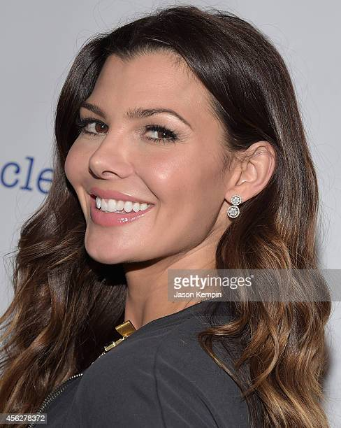 Model Ali Landry attends the 3rd annual red CARpet safety awareness event presented by Favoredby Diono And Evenflo at the Skirball Cultural Center on...