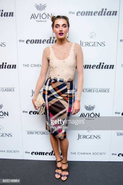 Model Alina Baikova attends a Screening Of Sony Pictures Classics' 'The Comedian' at Museum of Modern Art on January 31 2017 in New York City