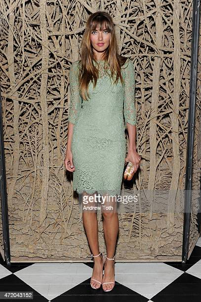 Model Alina Baikova attends Liu Wen Wendi Murdoch Laurent Claquin x Qeelin Host A Private Cocktail Party To Celebrate The Met Gala Exhibition on May...