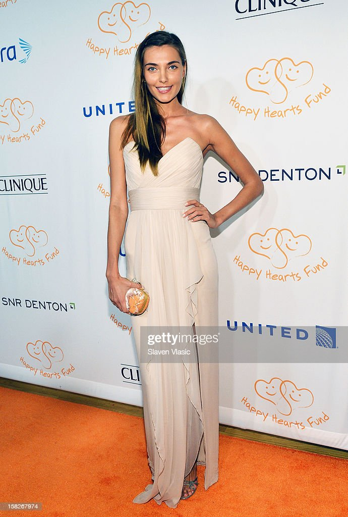 Model Alina Baikova attends the 2012 Happy Hearts Fund Land Of Dreams: Mexico Gala at Metropolitan Pavilion on December 11, 2012 in New York City.
