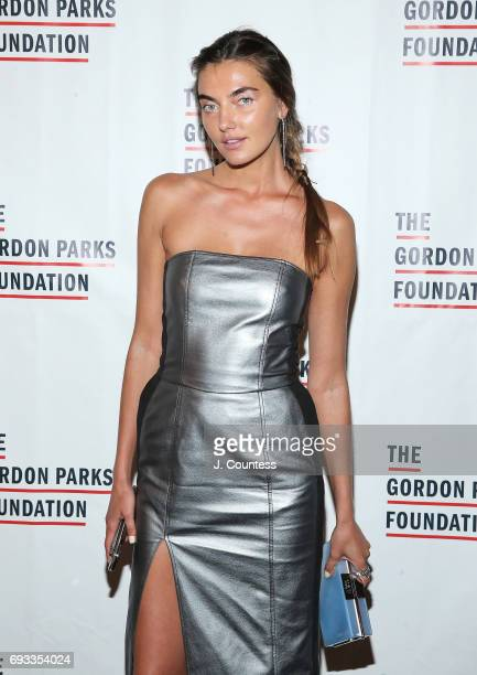 Model Alina Baikova attends the 2017 Gordon Parks Foundation Awards Gala at Cipriani 42nd Street on June 6 2017 in New York City
