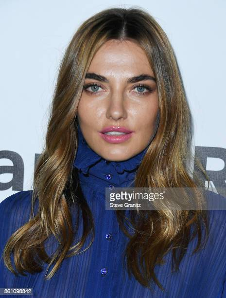 Model Alina Baikova attends the amfAR Gala 2017 at Ron Burkle's Green Acres Estate on October 13 2017 in Beverly Hills California
