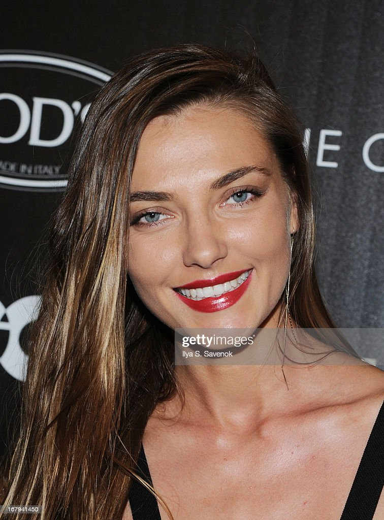 Model Alina Baikova attends The Cinema Society with Tod's & GQ screening of Millennium Entertainment's 'What Maisie Knew' at Landmark Sunshine Cinema on May 2, 2013 in New York City.