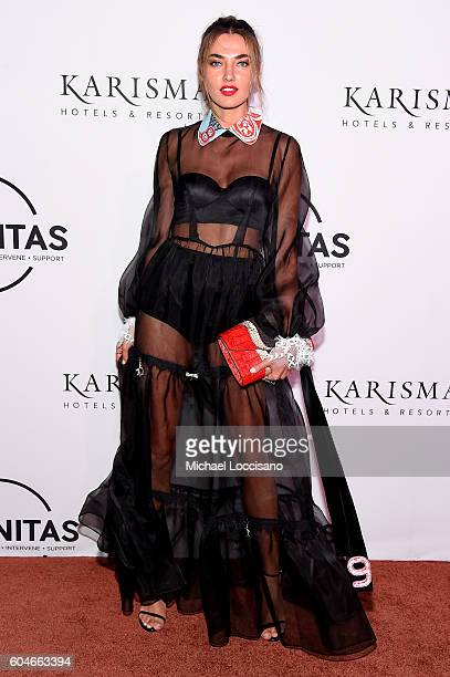Model Alina Baikova attends the UNITAS 2nd annual gala against human trafficking at Capitale on September 13 2016 in New York City
