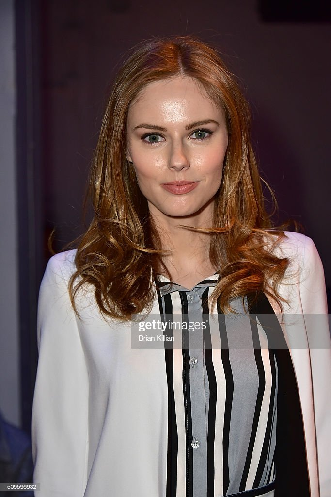 Model <a gi-track='captionPersonalityLinkClicked' href=/galleries/search?phrase=Alyssa+Campanella&family=editorial&specificpeople=7480512 ng-click='$event.stopPropagation()'>Alyssa Campanella</a> attends the Marissa Webb Fall 2016 show during New York Fashion Week: The Shows at The Gallery, Skylight at Clarkson Sq on February 11, 2016 in New York City.