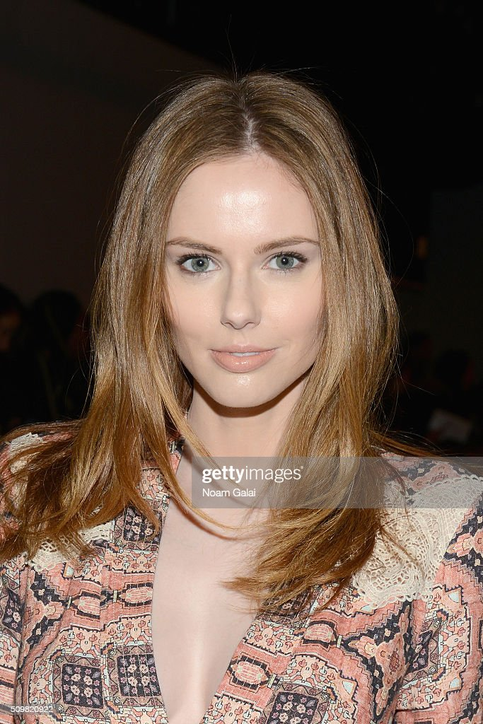 Model <a gi-track='captionPersonalityLinkClicked' href=/galleries/search?phrase=Alyssa+Campanella&family=editorial&specificpeople=7480512 ng-click='$event.stopPropagation()'>Alyssa Campanella</a> attends Zimmermann Fall 2016 Runway Show at Art Beam on February 12, 2016 in New York City.