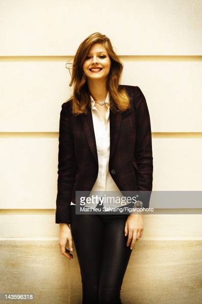 Model Amber Anderson poses for Madame Figaro on September 7 2011 in Paris France Figaro ID 101767010 CREDIT MUST READ Matthieu...