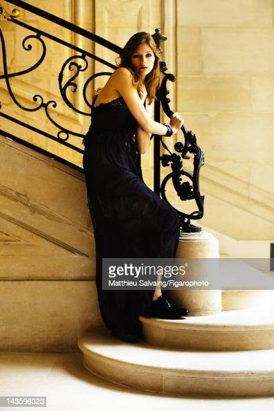 Model Amber Anderson poses for Madame Figaro on September 7 2011 in Paris France Figaro ID 101767013 CREDIT MUST READ Matthieu...