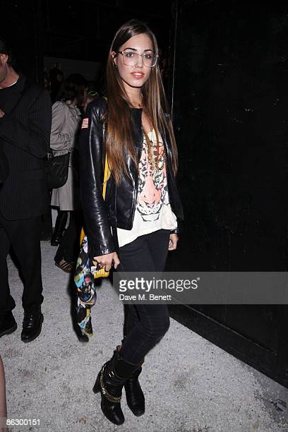 Model Amber Le Bon at the New Look a/w 2009 Party on April 29 2009 in London England