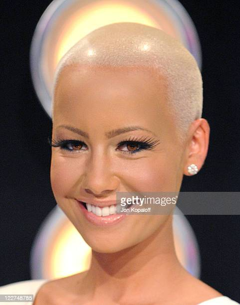 Model Amber Rose arrives at the 2011 MTV Video Music Awards held at Nokia Theatre LA Live on August 28 2011 in Los Angeles California