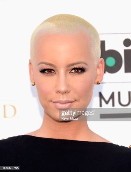 Model Amber Rose arrives at the 2013 Billboard Music Awards at the MGM Grand Garden Arena on May 19 2013 in Las Vegas Nevada