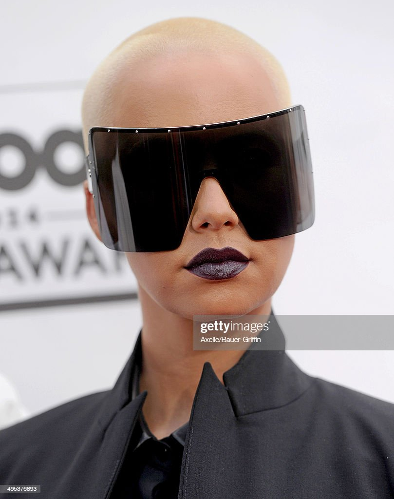 Model Amber Rose arrives at the 2014 Billboard Music Awards at the MGM Grand Garden Arena on May 18, 2014 in Las Vegas, Nevada.